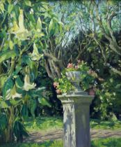 Catherine Tyler (British 1949-): 'Cadiz Garden'