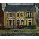 James Neal (Northern British 1918-2011): 'Houses in Victoria Avenue Hull'