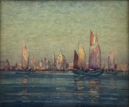 Hirst Walker (Staithes Group 1868-1957): Venice