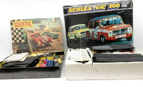 Scalextric - set 60 with Aston Martin and Ferrari cars