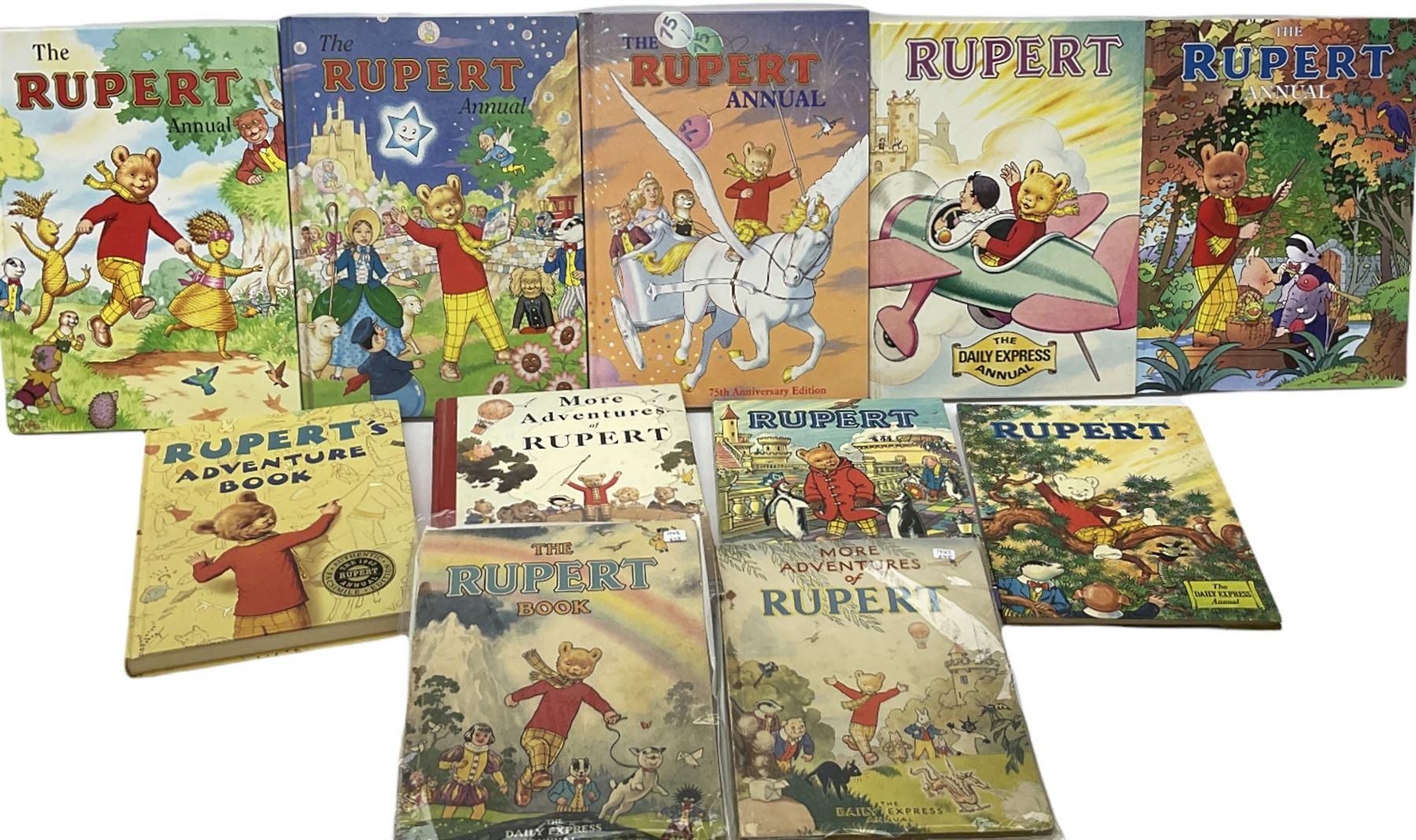 Rupert Bear - More Adventures of Rupert 1947 and The Rupert Book 1948