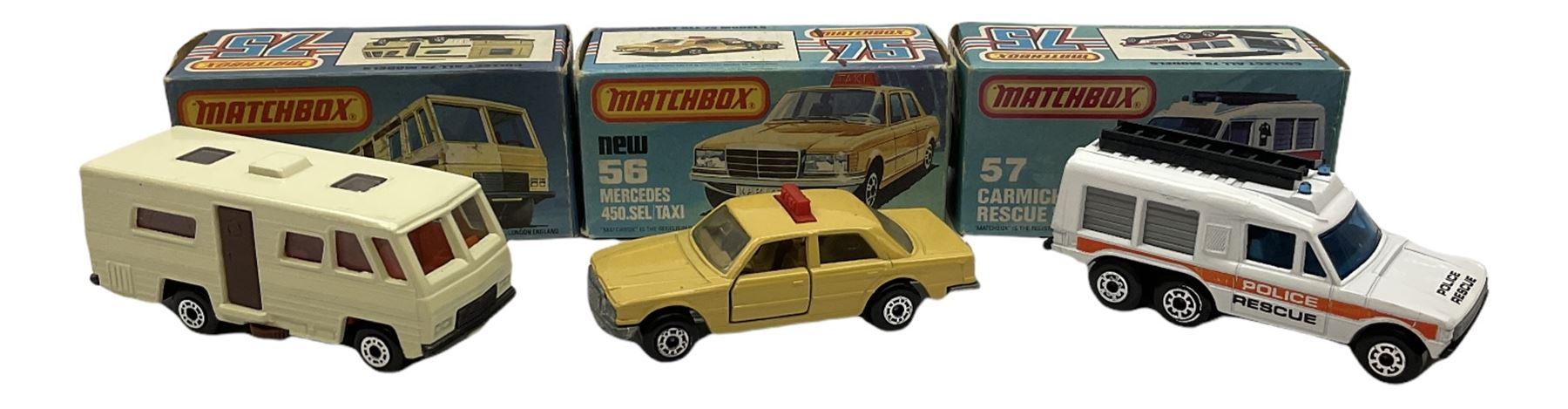 Matchbox/Superfast - eleven '1-75' series models comprising 53f Flareside Pick-Up - Image 3 of 7