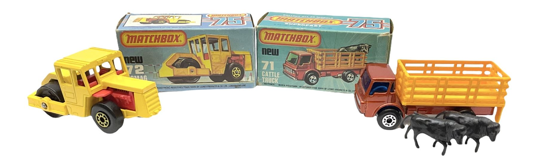 Matchbox/Superfast - nine '1-75' series models comprising 64d Fire Chief car - Image 5 of 8