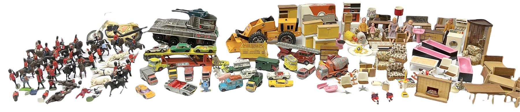 Miscellaneous toys - quantity of wooden and plastic dolls house furniture and accessories; quantity - Image 4 of 12