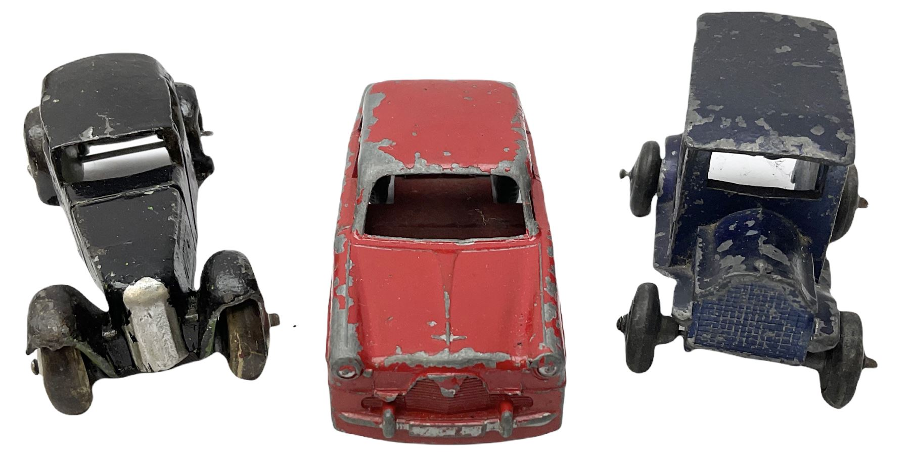 Various Makers - eleven unboxed and playworn early die-cast models - Image 8 of 9