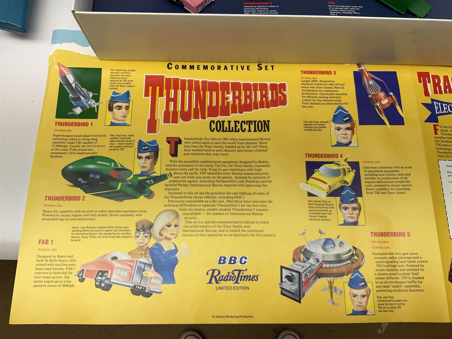 Matchbox 'The Thunderbirds' limited edition Commemorative Set - Image 6 of 7