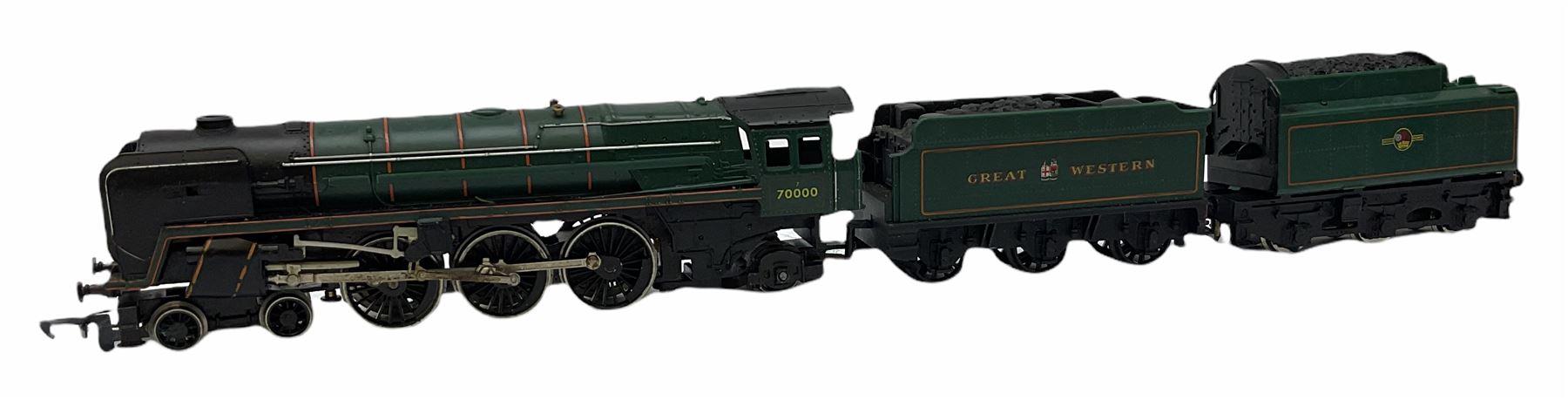 Hornby '00' gauge - Class A4 4-6-2 locomotive 'Mallard' No.60022; Class A1/A3 4-6-2 locomotive 'Flyi - Image 5 of 11