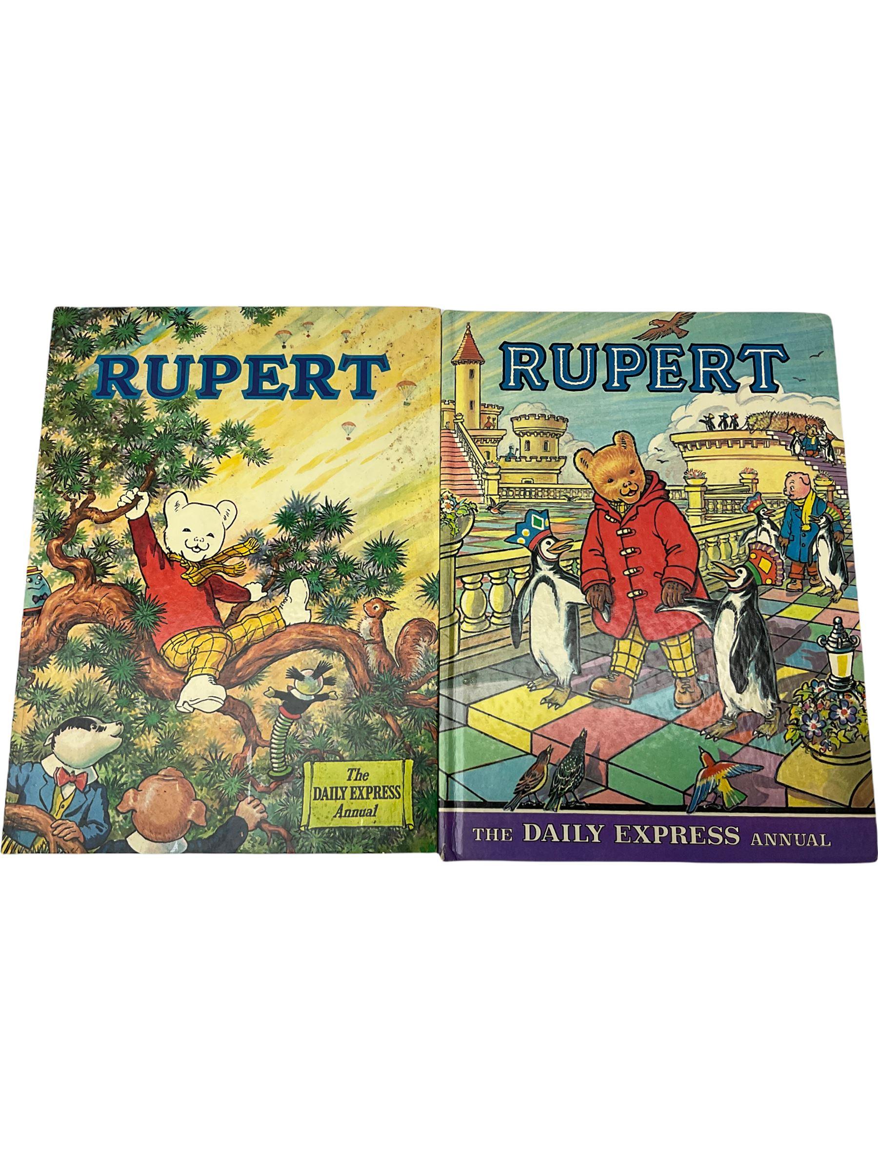 Rupert Bear - More Adventures of Rupert 1947 and The Rupert Book 1948 - Image 6 of 8