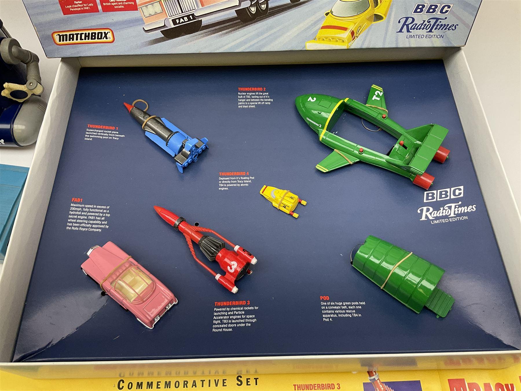 Matchbox 'The Thunderbirds' limited edition Commemorative Set - Image 7 of 7