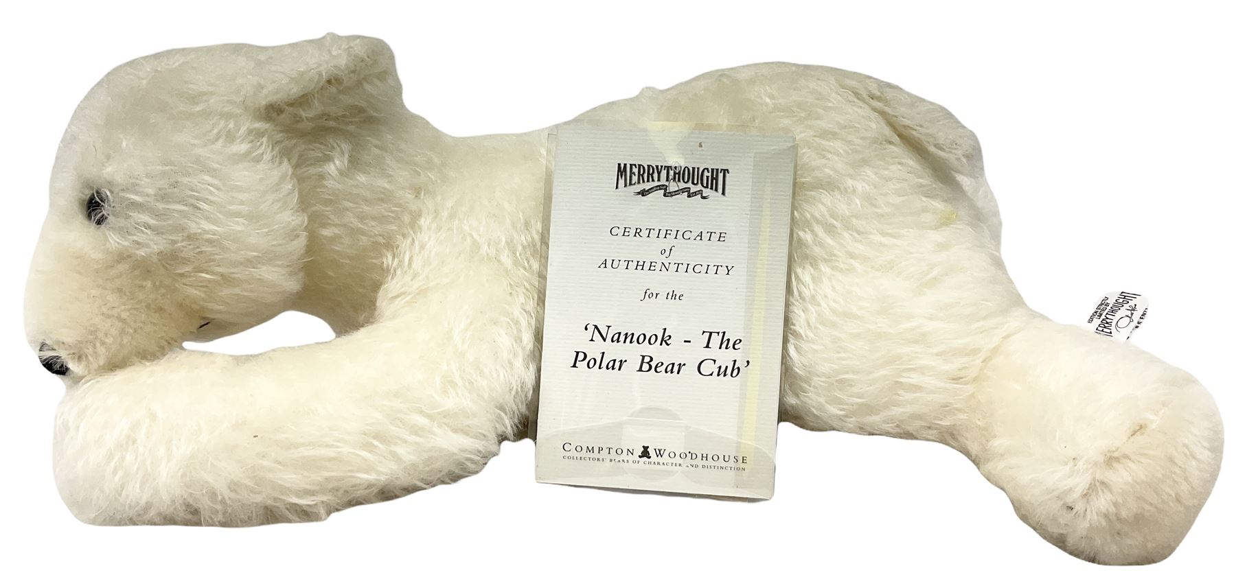 Merrythought - two modern limited edition bears comprising 'Nanook The Polar Bear Club' No.213/2450; - Image 4 of 6