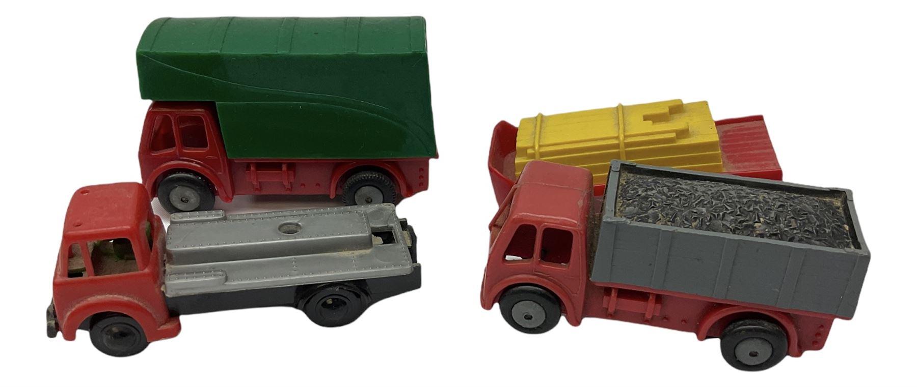 Tri-ang/Tri-ang Minic - twelve plastic friction-drive vehicles comprising Tri-ang Toys/Pedigree Pram - Image 5 of 7