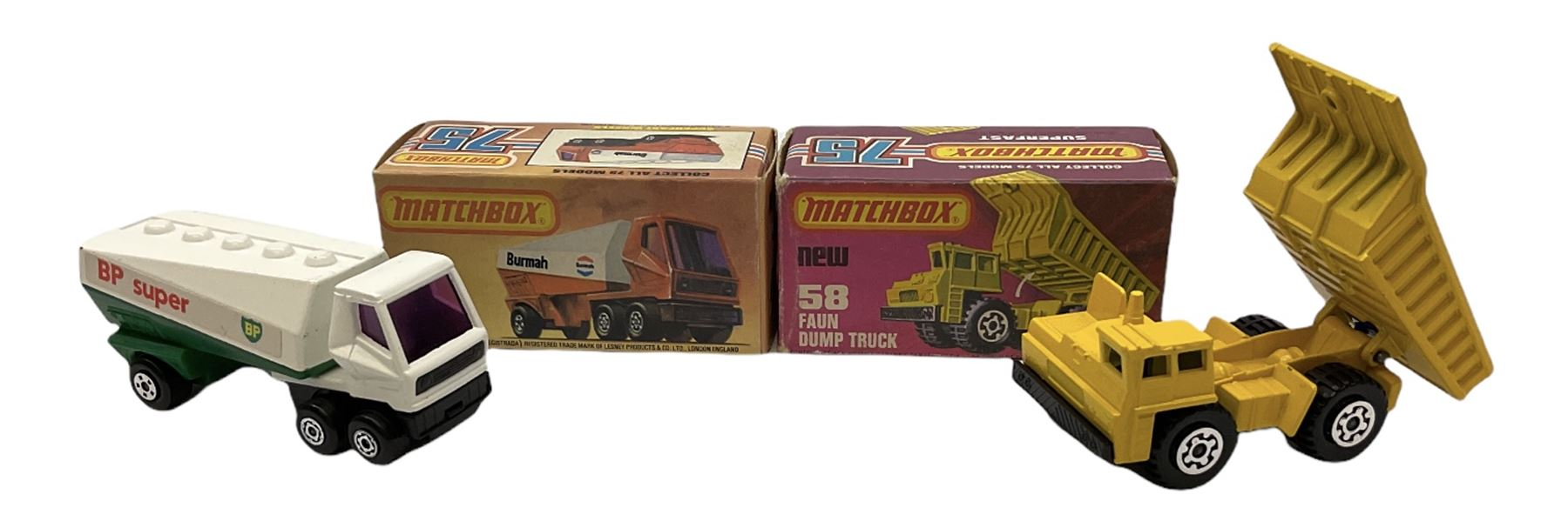 Matchbox/Superfast - eleven '1-75' series models comprising 53f Flareside Pick-Up - Image 2 of 7