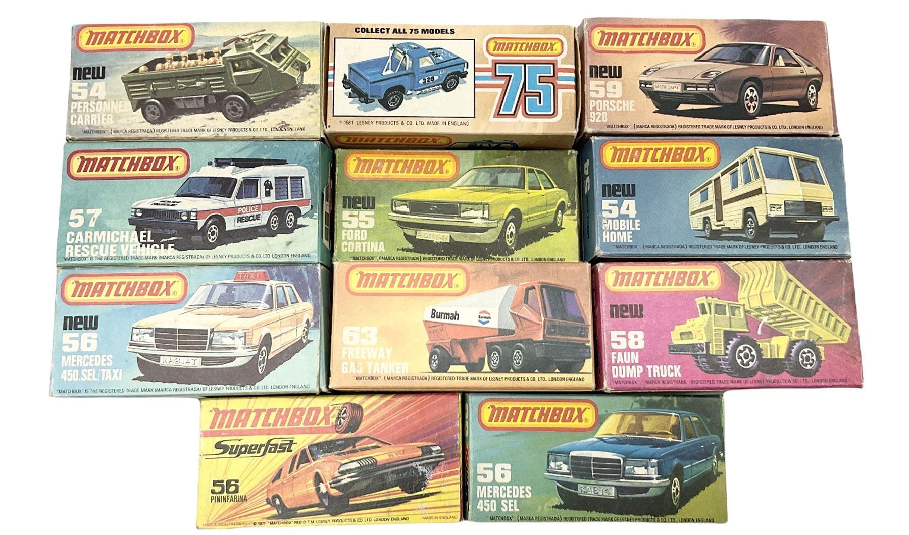Matchbox/Superfast - eleven '1-75' series models comprising 53f Flareside Pick-Up - Image 7 of 7