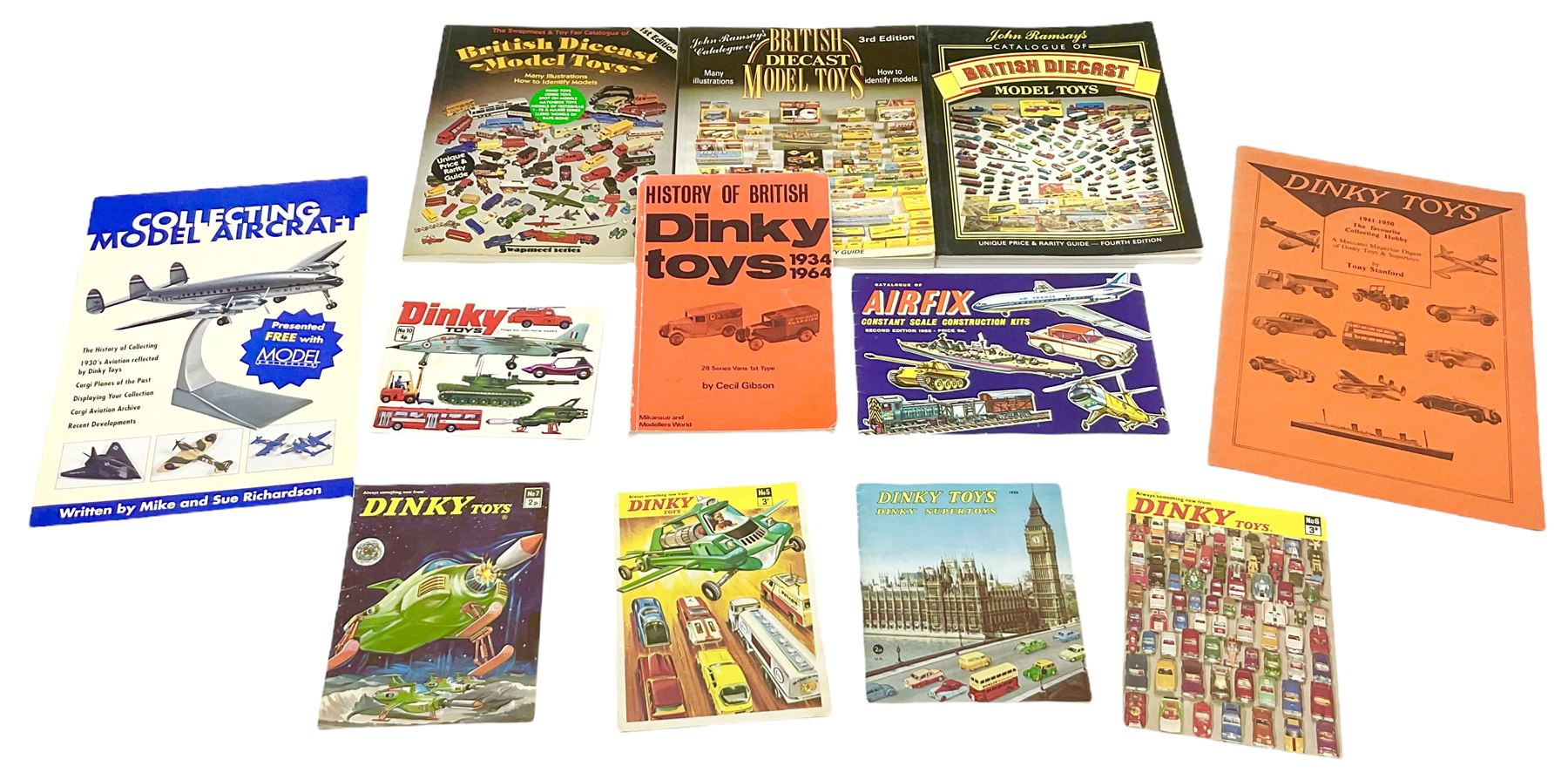 Dinky - five catalogues Nos.5