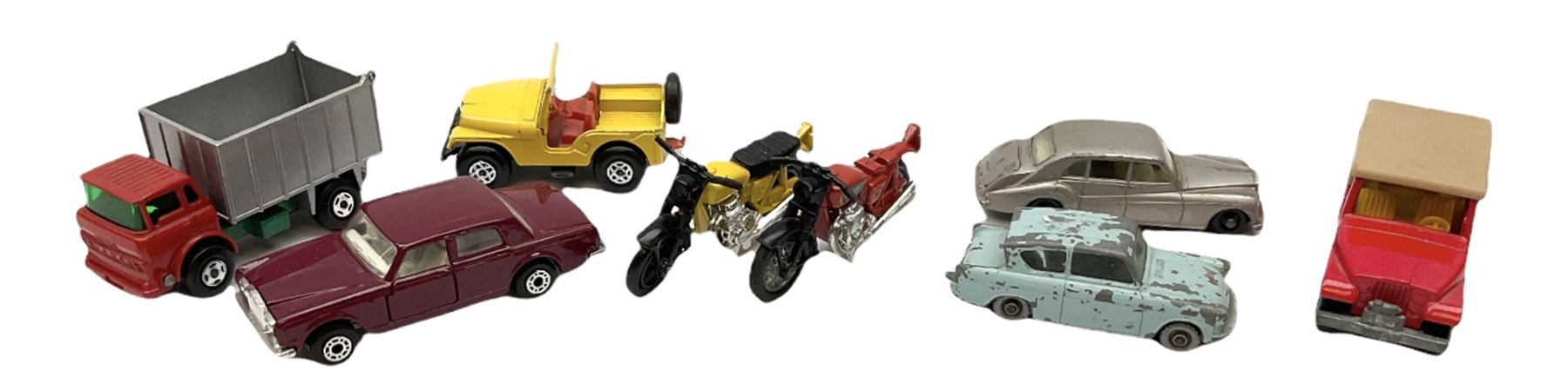 Matchbox/Superfast - nine '1-75' series models comprising 64d Fire Chief car - Image 3 of 8