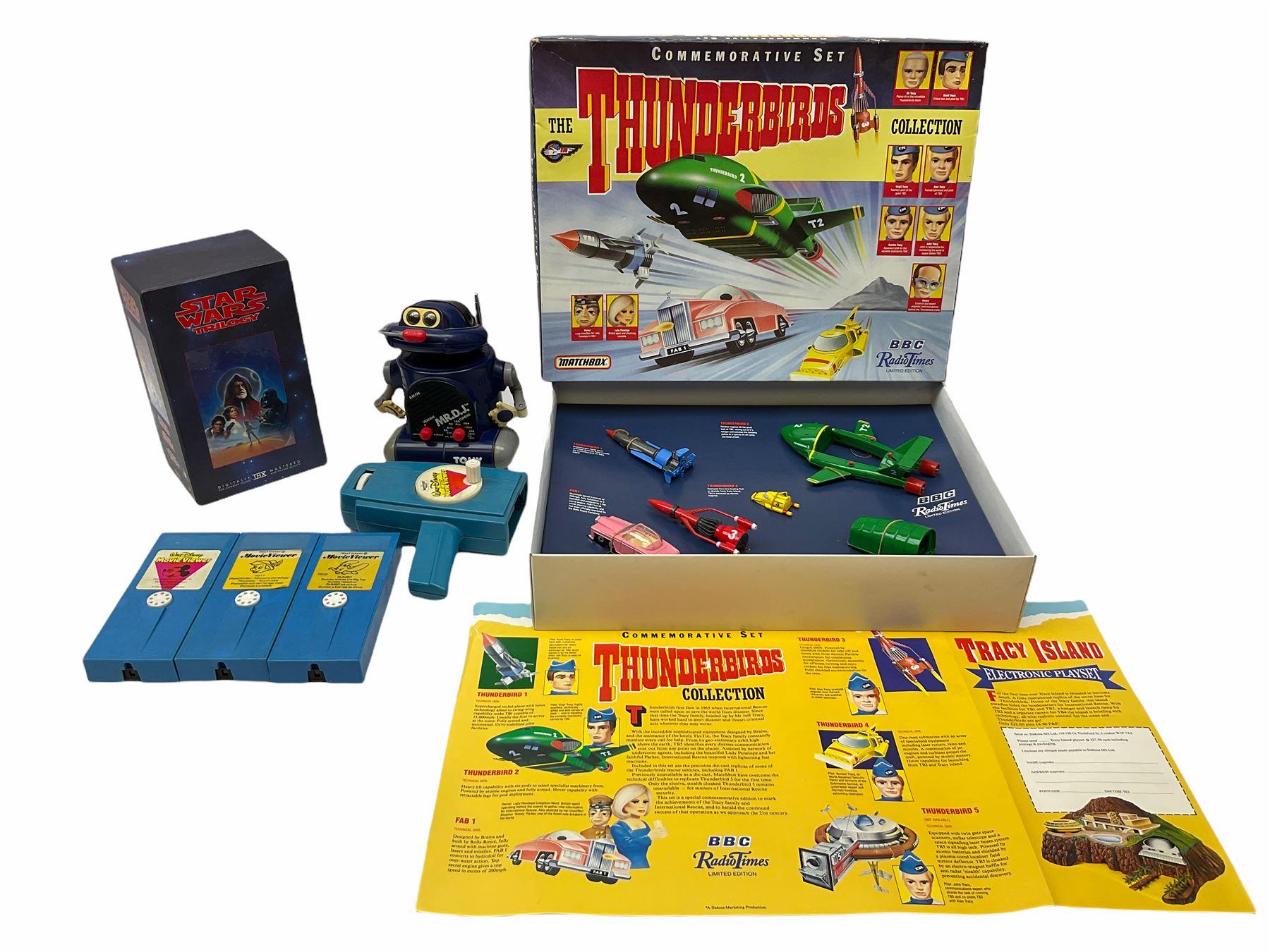 Matchbox 'The Thunderbirds' limited edition Commemorative Set