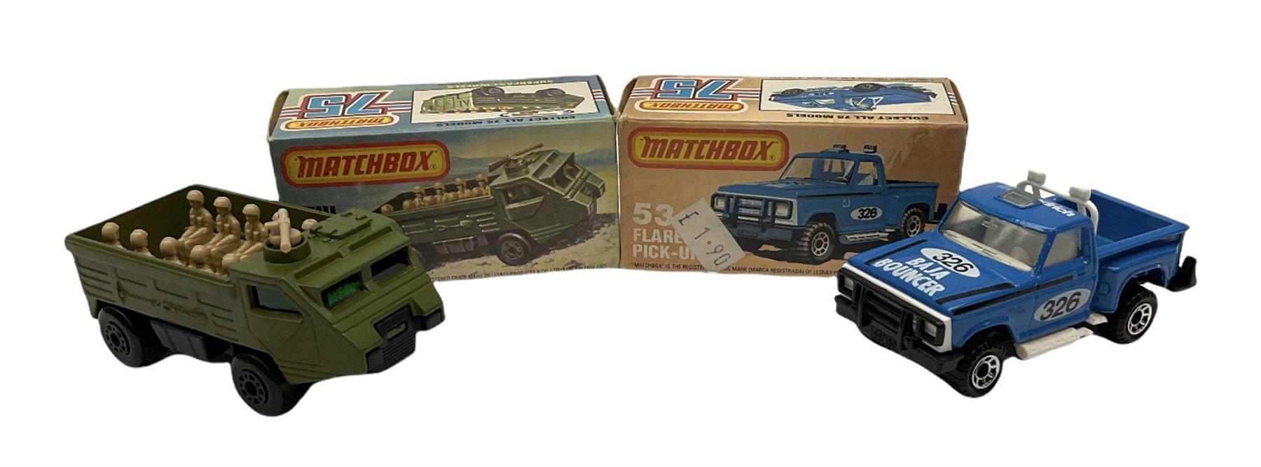 Matchbox/Superfast - eleven '1-75' series models comprising 53f Flareside Pick-Up - Image 5 of 7