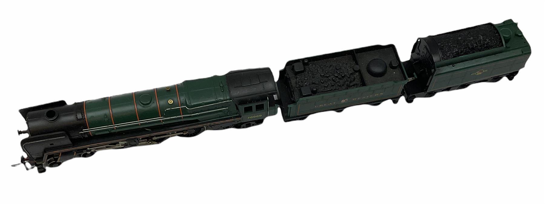 Hornby '00' gauge - Class A4 4-6-2 locomotive 'Mallard' No.60022; Class A1/A3 4-6-2 locomotive 'Flyi - Image 6 of 11
