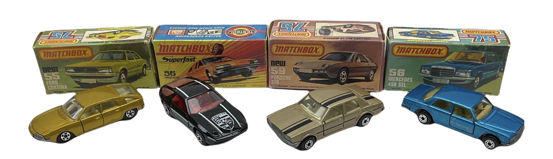 Matchbox/Superfast - eleven '1-75' series models comprising 53f Flareside Pick-Up - Image 4 of 7