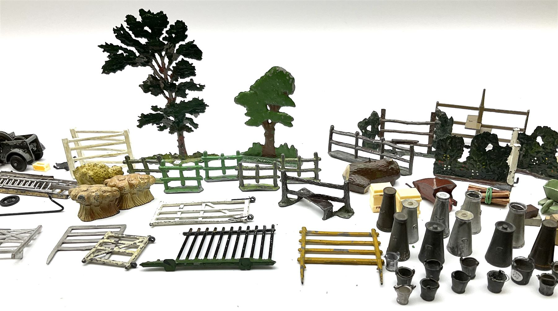 Various Makers - collection of lead/die-cast farm accessories including fences and gates - Image 4 of 8
