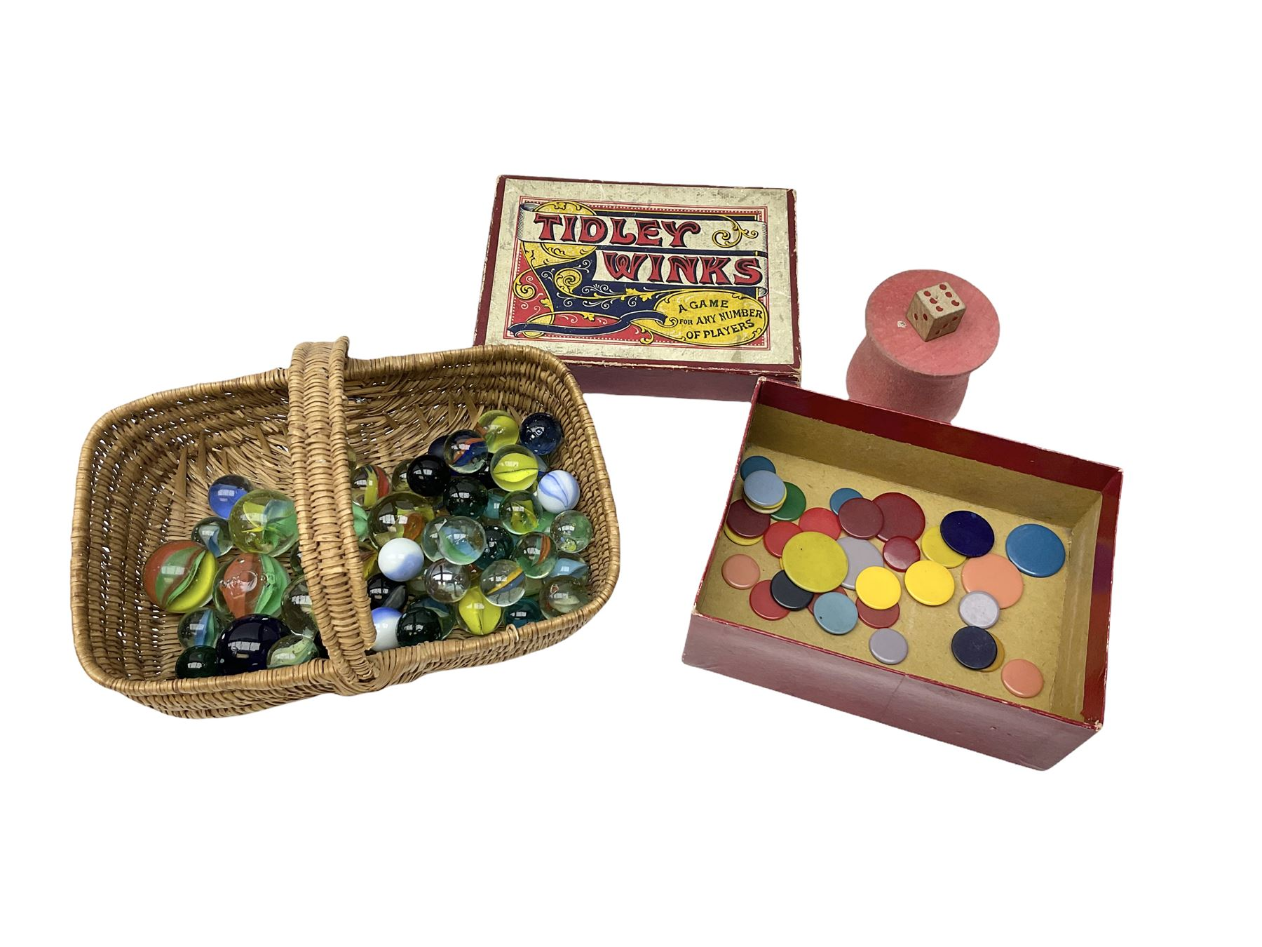 Vintage musical toys including three tin-plate drums by Chad Valley etc; two sets of cymbals; five m - Image 5 of 5
