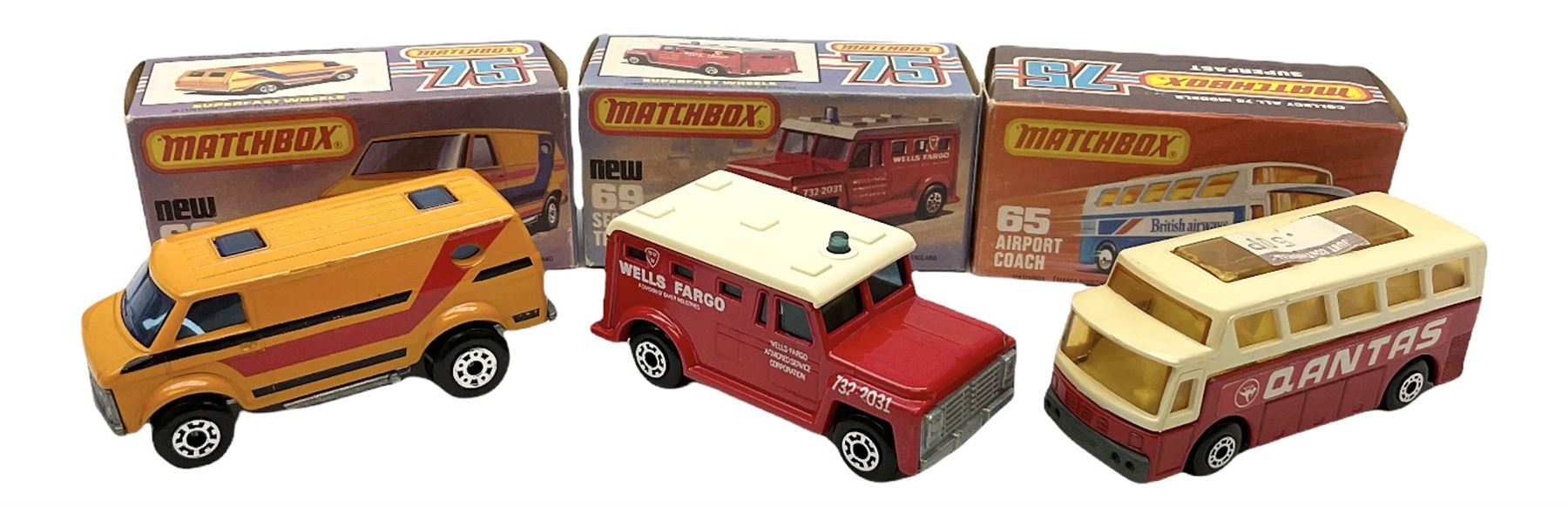 Matchbox/Superfast - nine '1-75' series models comprising 64d Fire Chief car - Image 6 of 8