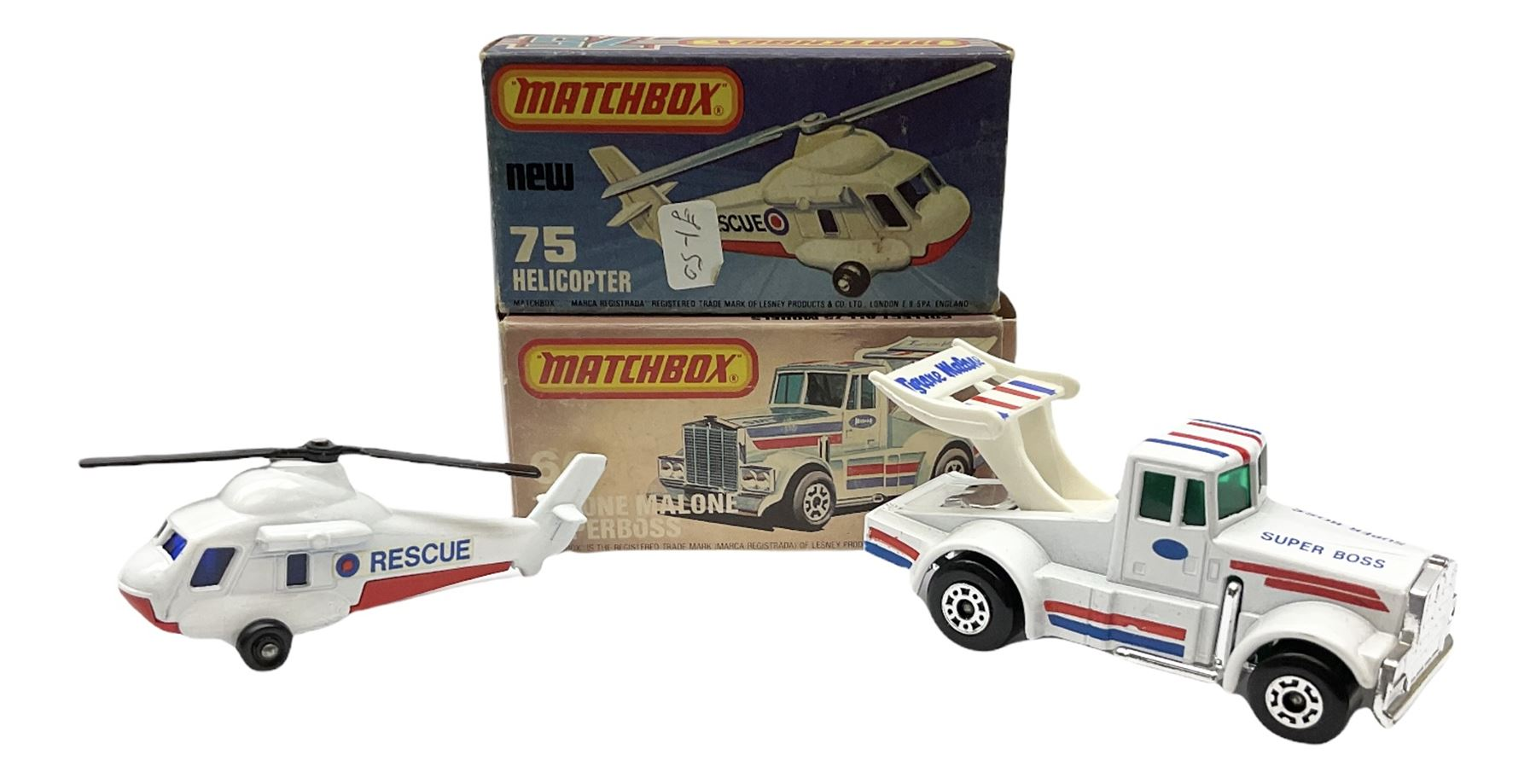 Matchbox/Superfast - nine '1-75' series models comprising 64d Fire Chief car - Image 7 of 8