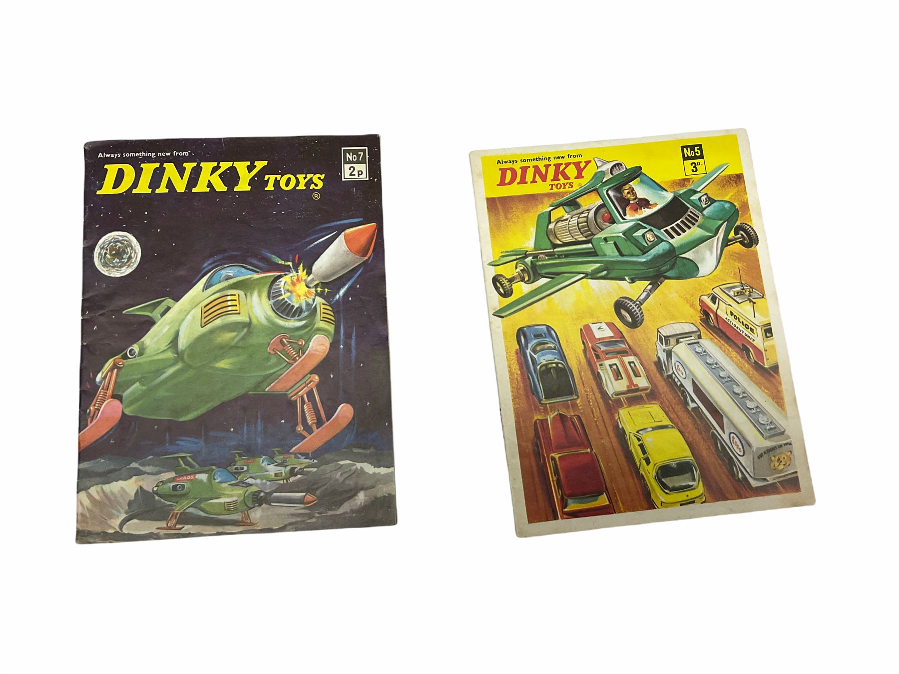 Dinky - five catalogues Nos.5 - Image 5 of 8