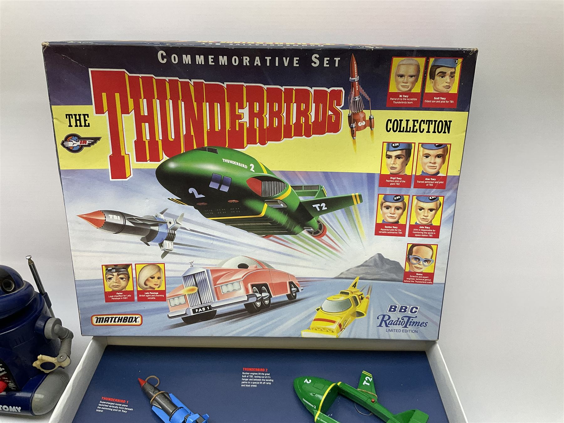 Matchbox 'The Thunderbirds' limited edition Commemorative Set - Image 5 of 7