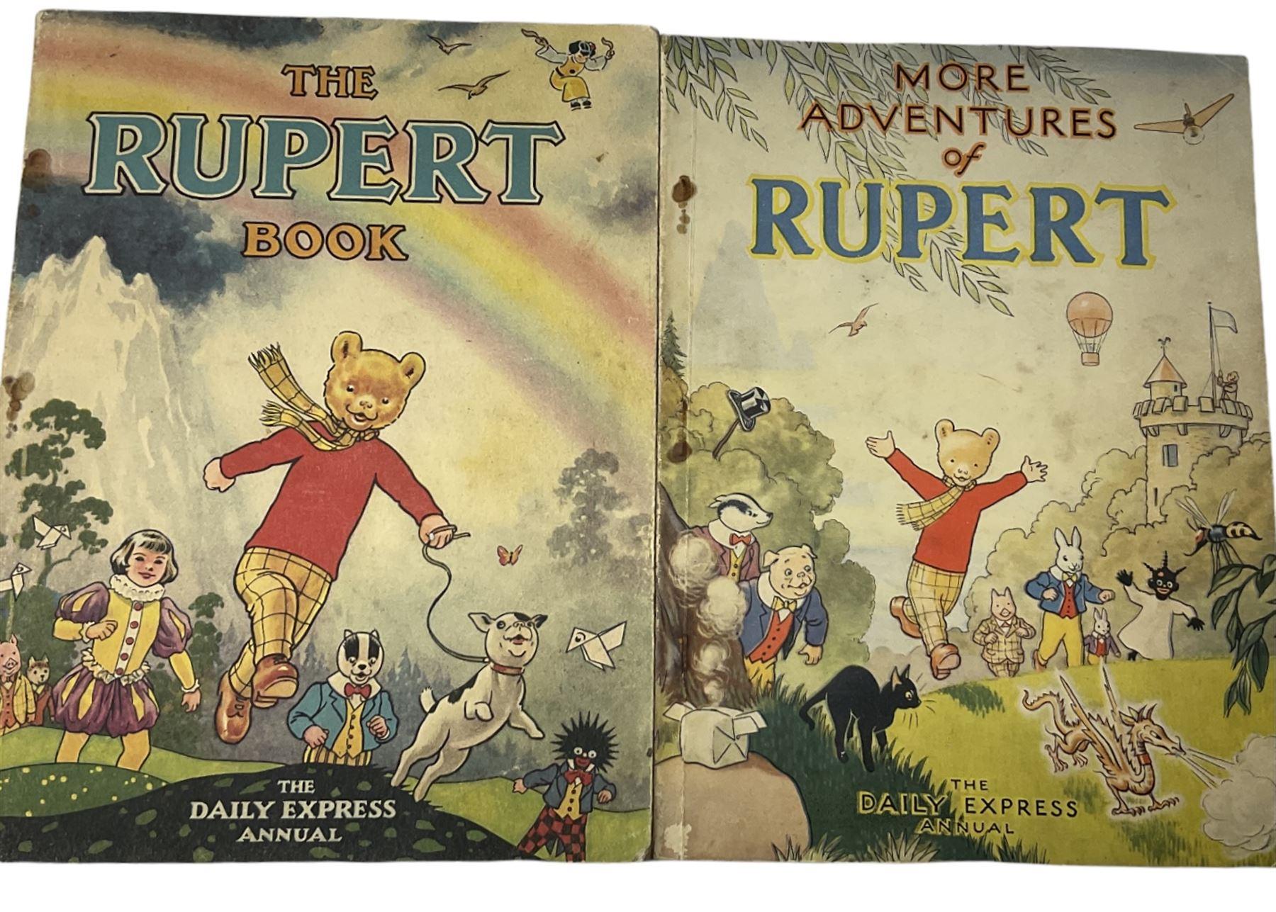 Rupert Bear - More Adventures of Rupert 1947 and The Rupert Book 1948 - Image 2 of 8