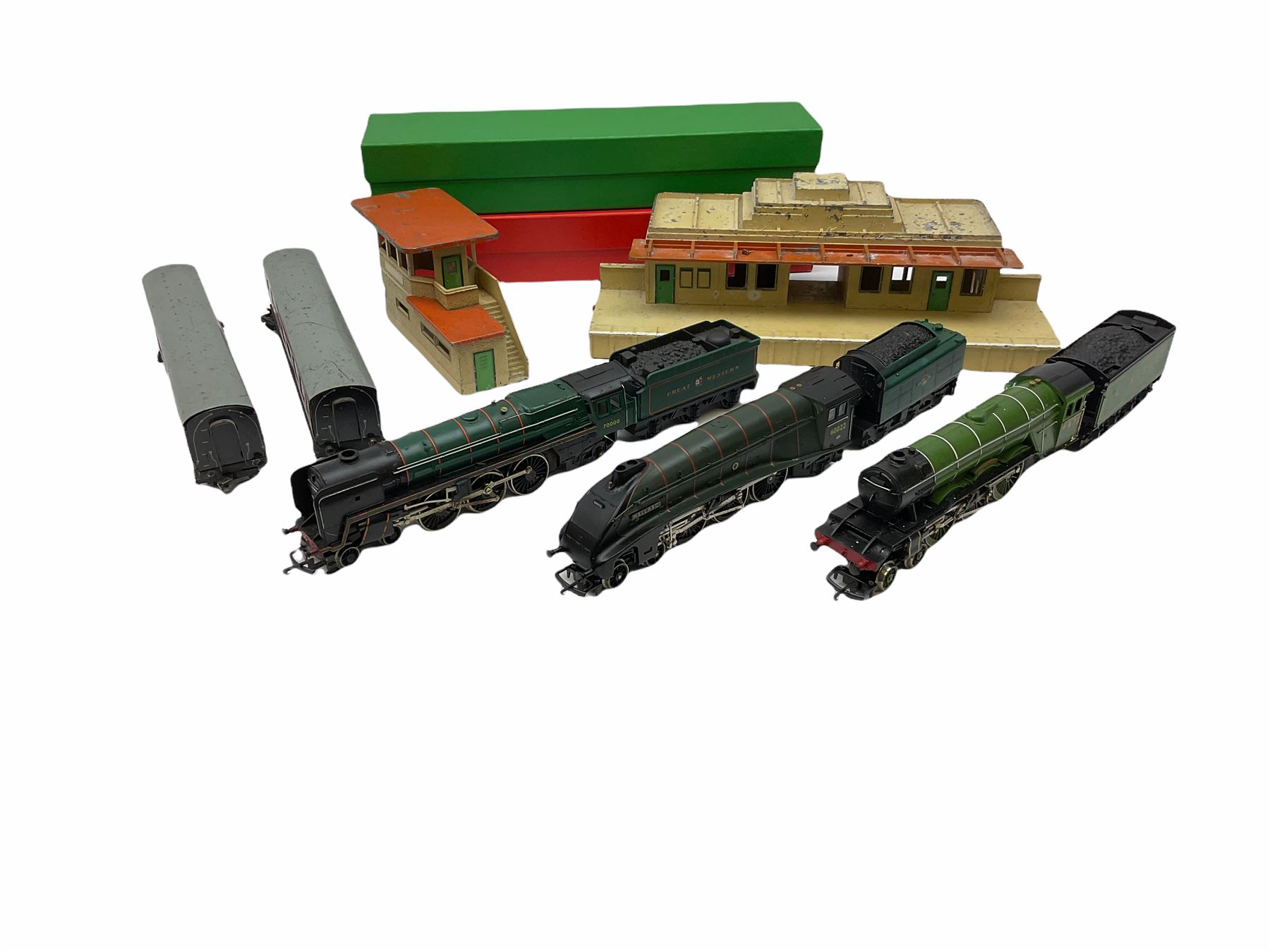 Hornby '00' gauge - Class A4 4-6-2 locomotive 'Mallard' No.60022; Class A1/A3 4-6-2 locomotive 'Flyi - Image 2 of 11