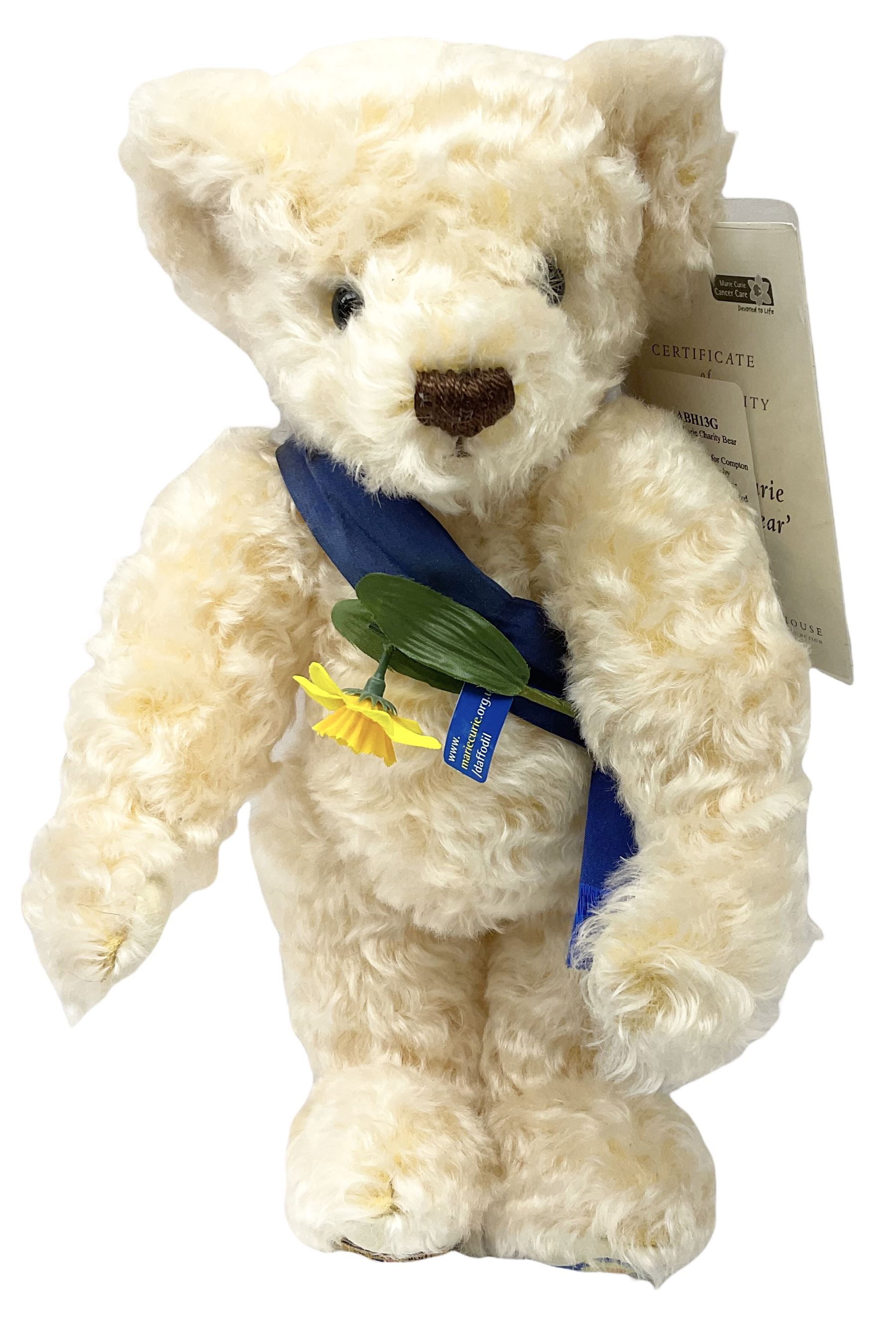 Merrythought - two modern limited edition bears comprising 'Nanook The Polar Bear Club' No.213/2450; - Image 2 of 6