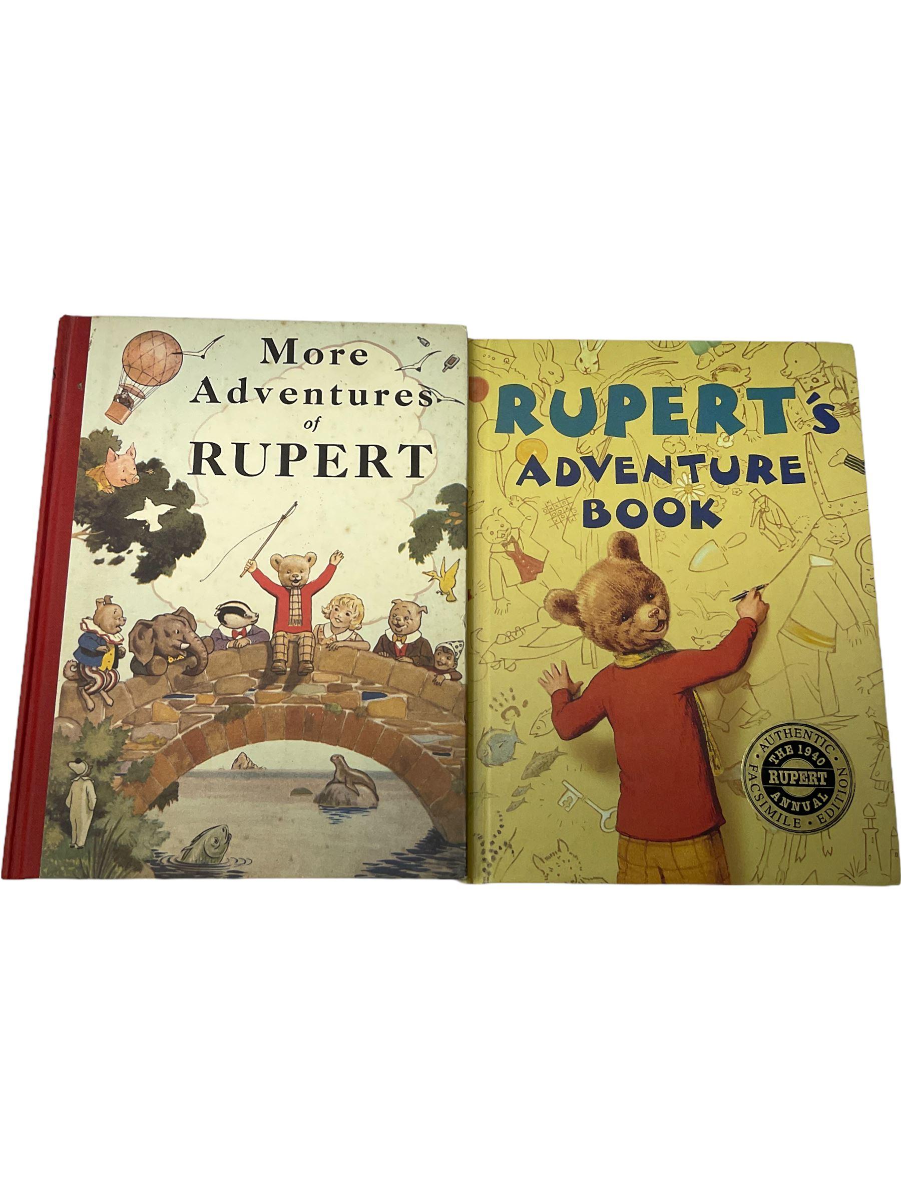 Rupert Bear - More Adventures of Rupert 1947 and The Rupert Book 1948 - Image 4 of 8