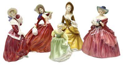 Royal Doulton figures