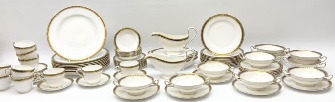 Spode tea and dinner wares in Majestic pattern