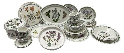 Quantity of Portmeirion 'The Botanic Garden' dinner wares