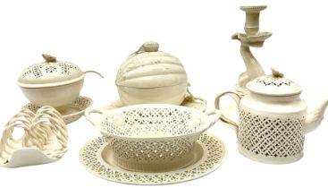 20th century Leeds creamware