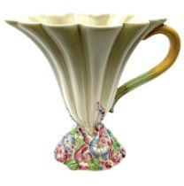Clarice Cliff Newport Pottery handled vase/jug