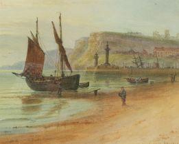 John Francis Branegan (British 1843-1909): 'Whitby Sunrise'