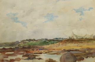 English School (Early 20th century): Coastal Town