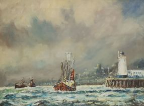 James Lishman after Jack Rigg (British 1927-): 'Out of Scarborough'