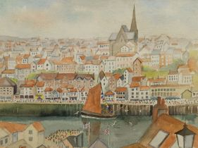 Penny Wicks (British 1949-): 'Whitby'