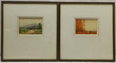 Adam Knight (British 1855-1931): Landscape