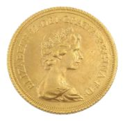 Queen Elizabeth II 1978 gold full sovereign