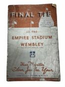 Rugby League Challenge Cup Competition programme May 4th 1935