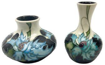 Two Moorcroft vases