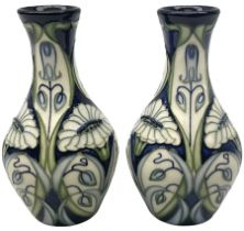 Pair of Moorcroft vases