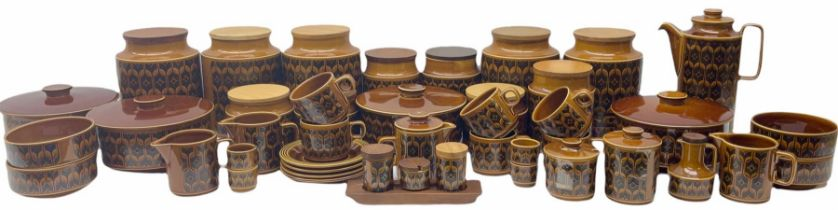 Hornsea Pottery Hairloom pattern dinner and tea wares