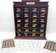 Twenty Four Danbury Mint models of fish