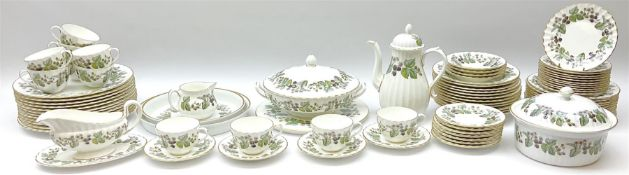 Royal Worcester dinner and tea wares